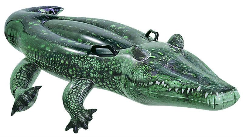 Hinchable con forma de cocodrilo comprar online