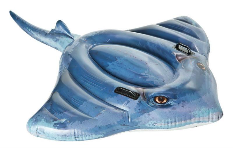 Flotador hinchable con forma de pez raya comprar online