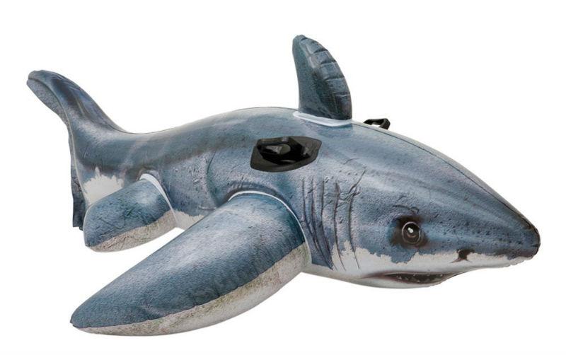 Comprar flotador tiburón hinchable