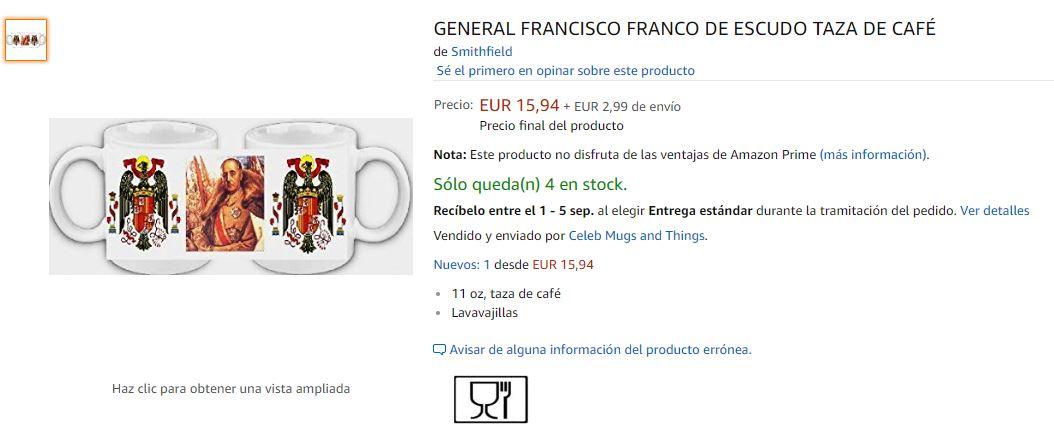 Tazas de Francisco Franco