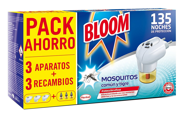 Aparato con pastillas antimosquitos común y tigre