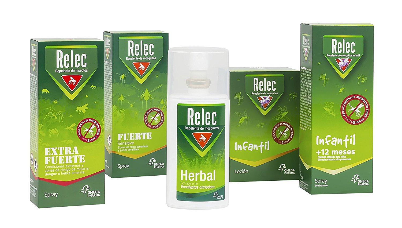 Relec sprays antimosquitos