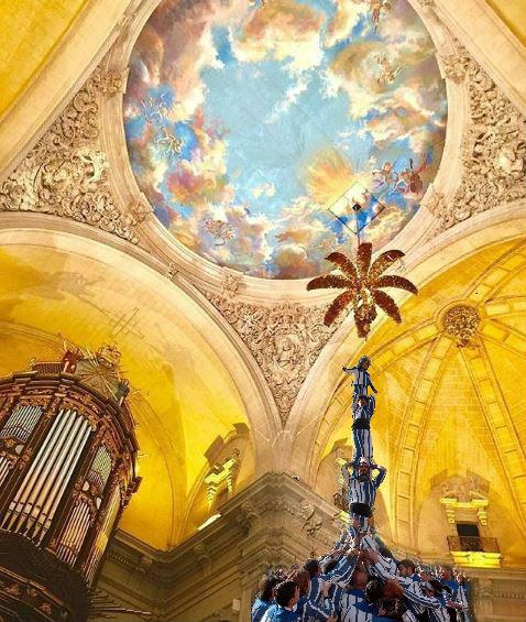 Misteri d'Elx y Muixeranga d'Alacant