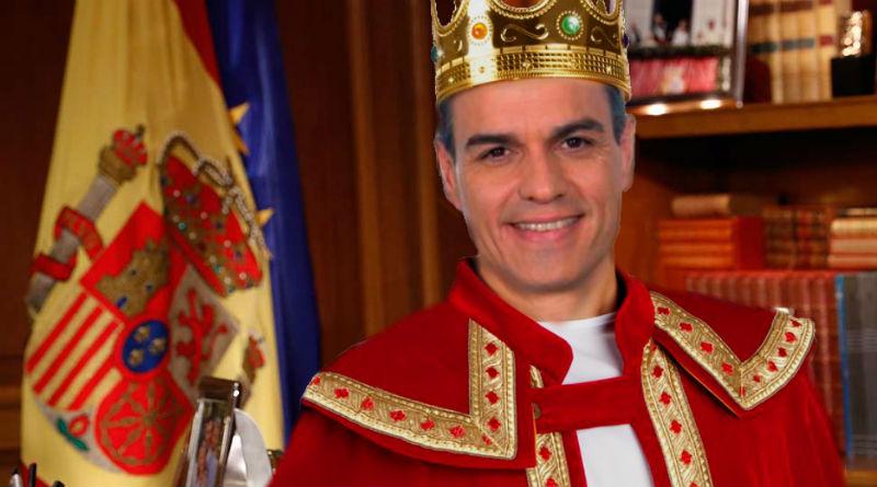 discurso de nochebuena de Pedro Sánchez