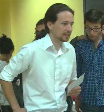 Pablo Iglesias Euromillones Vallecas