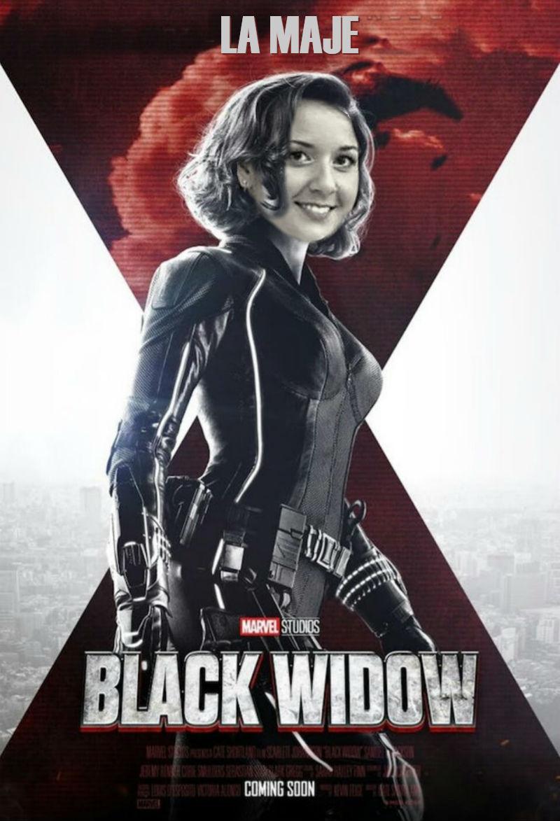 Maje, la viuda negra