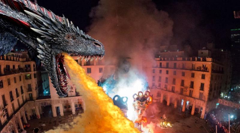 dragón nit cremà Alicante