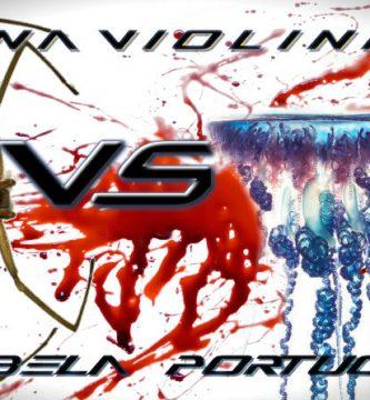 araña violinista vs carabela portuguesa