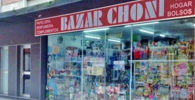 bazar choni alicante