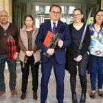 Sanguino PSOE armas tomar