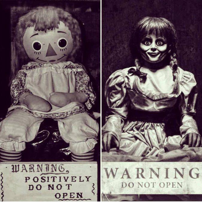 Annabelle real y la del cine