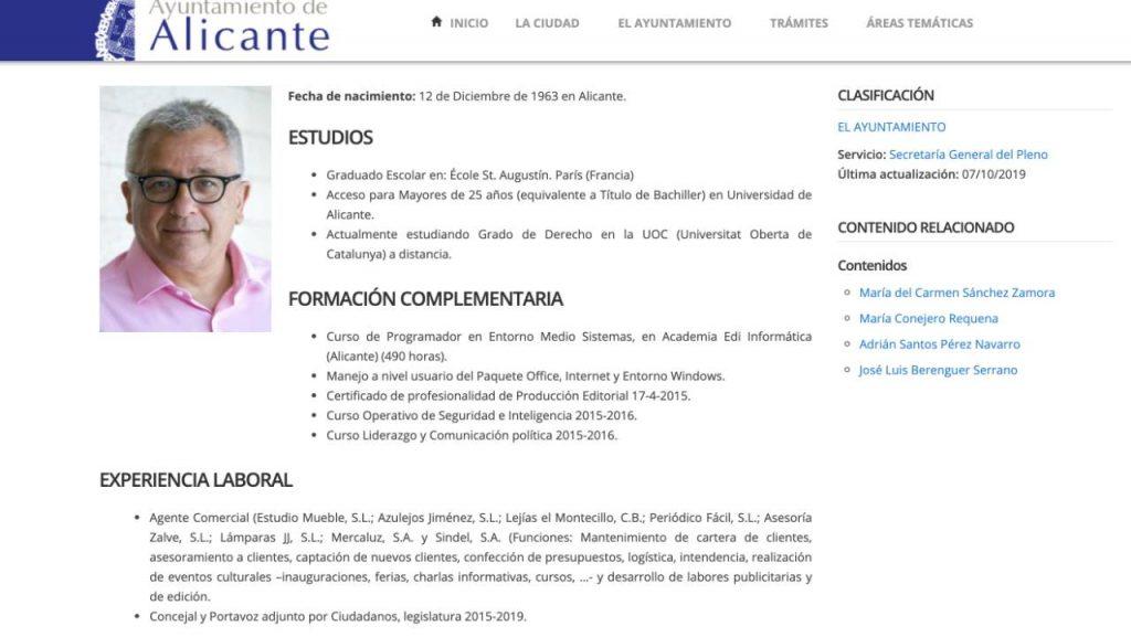 Antonio Manresa CV