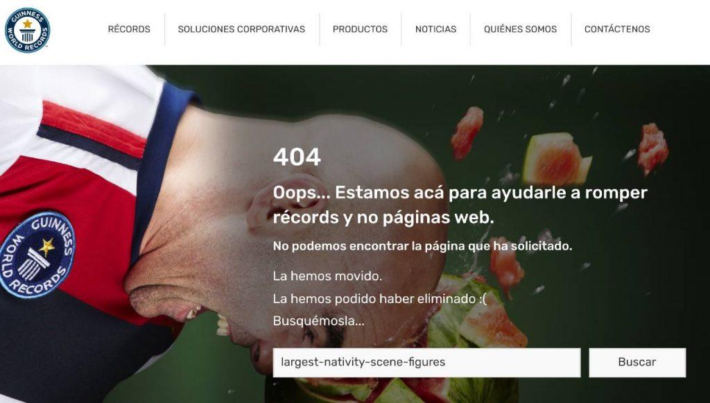 web record guinness belen gigante error
