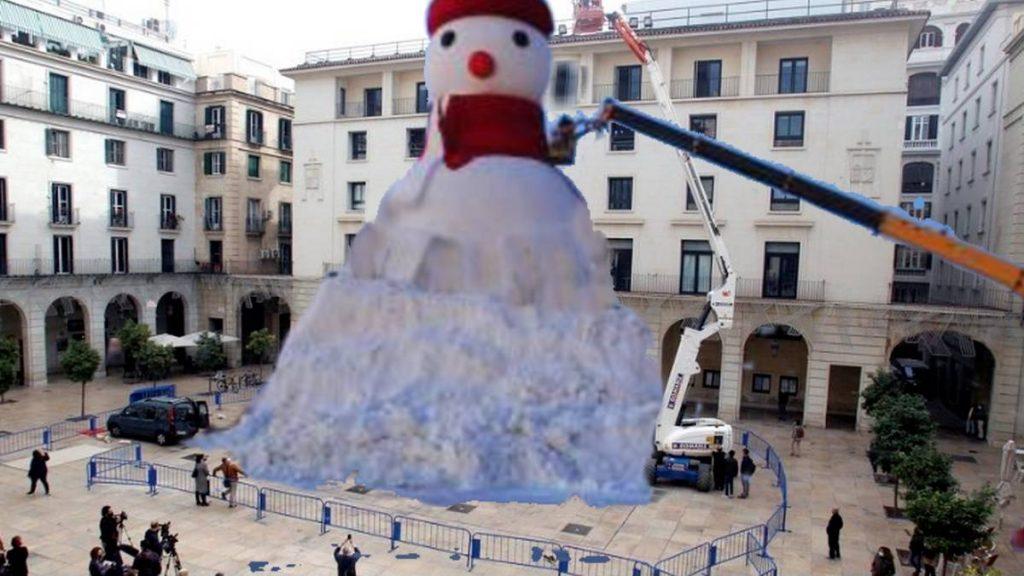 muñeco de nieve más grande del mundo