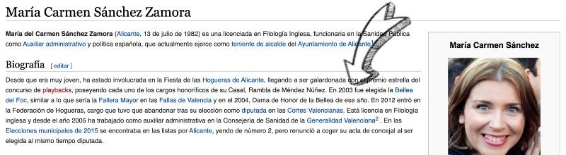 wikipedia mari carmen sanchez