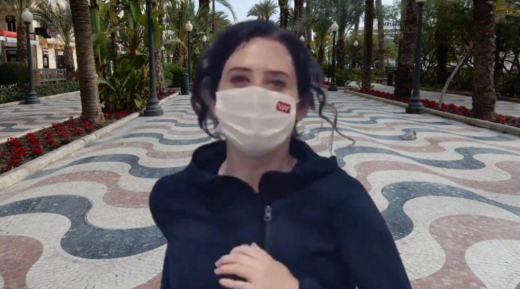 Isabel Díaz Ayuso en Alicante