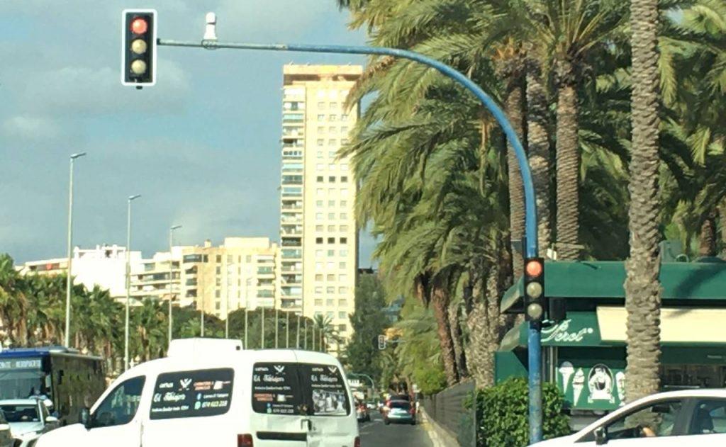 Edificio Alicante torcido