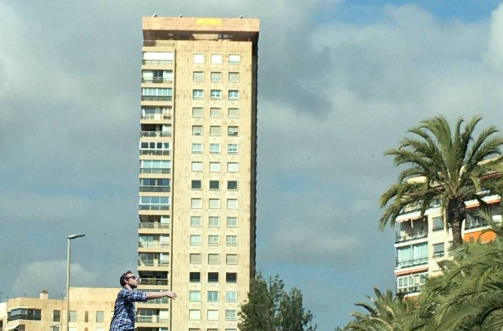 inclinación del Edificio Alicante