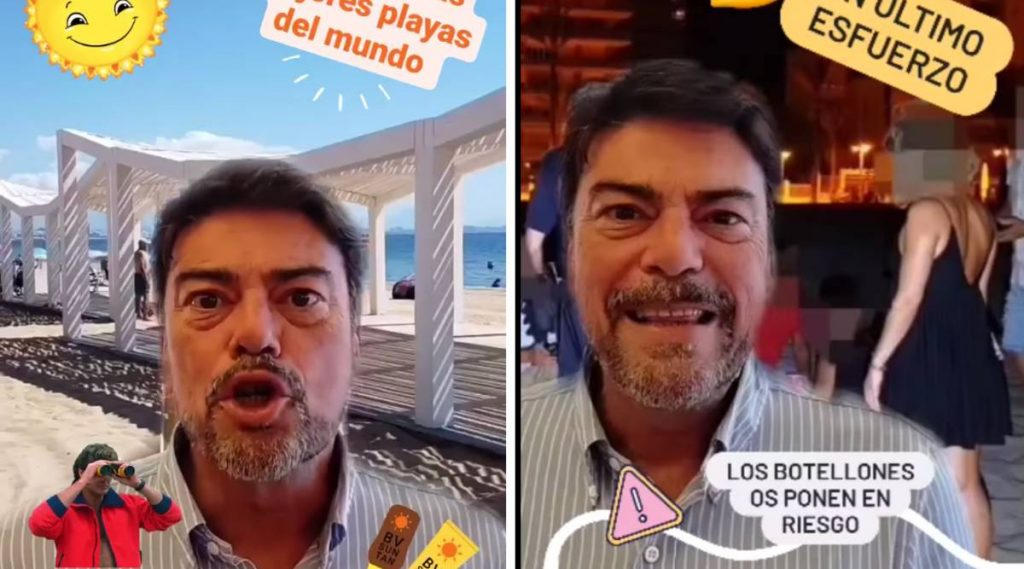 Lesion de Luis Barcala